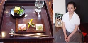 工房だより:水曜クラスのみなさんの第一作、タモ拭漆銘々皿を使って七夕の会2